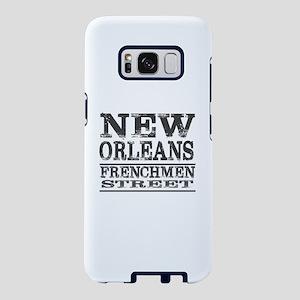 NEW ORLEANS FRENCHMEN STREE Samsung Galaxy S8 Case