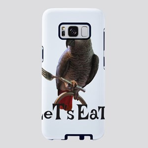 Funny African Grey Parrot L Samsung Galaxy S8 Case