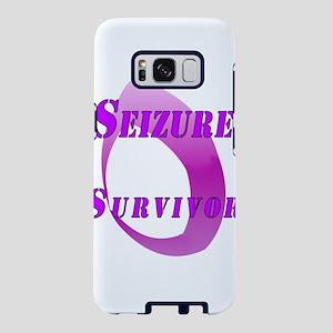 Seizure Survival - Purple Flame Samsung Galaxy S8