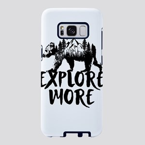 Explore More Bear Woods Samsung Galaxy S8 Case