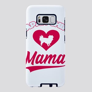 Japanese dog Mama with big Samsung Galaxy S8 Case