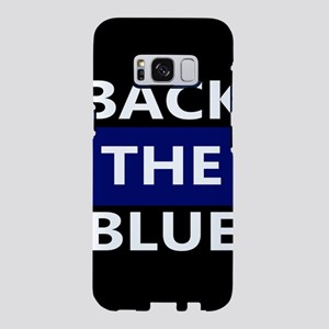 BACK THE BLUE Samsung Galaxy S8 Case