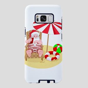 beach santa claus Samsung Galaxy S8 Case