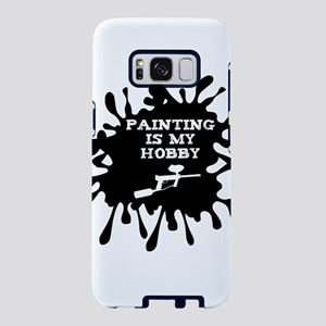 Paintball Player Painting I Samsung Galaxy S8 Case