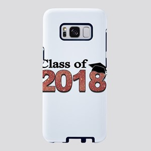 Class of 2018 Glitter Samsung Galaxy S8 Case