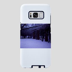 PICT0054 winter scene w Samsung Galaxy S8 Case