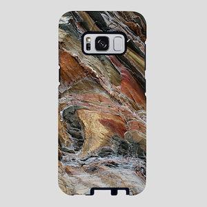 Rock swirls in nature Samsung Galaxy S8 Case