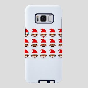black santa faces Samsung Galaxy S8 Case