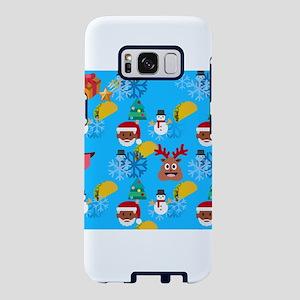 black santa taco christmas Samsung Galaxy S8 Case