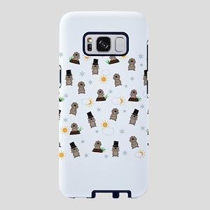 Groundhog Day Pattern Samsung Galaxy S8 Case