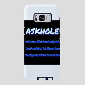 ASKHOLE BLUE Samsung Galaxy S8 Case