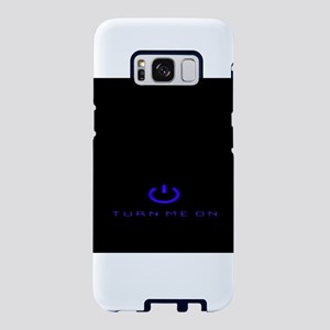 Turn Me On Blue Samsung Galaxy S8 Case