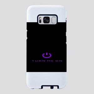 Turn Me On Purple Samsung Galaxy S8 Case