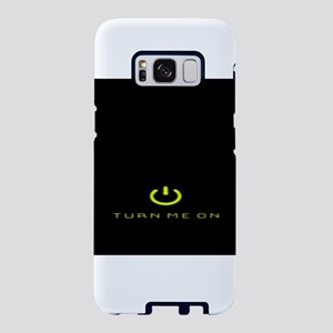 Turn Me On Yellow Samsung Galaxy S8 Case