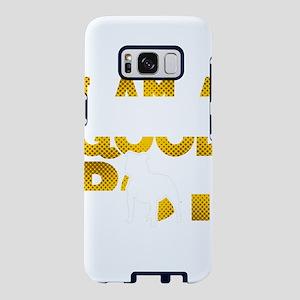 Pitbull Shirt I Am A Good B Samsung Galaxy S8 Case