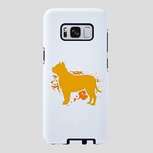 Pitbull Shirt Live Is Bette Samsung Galaxy S8 Case