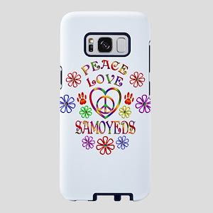 Peace Love Samoyeds Samsung Galaxy S8 Case