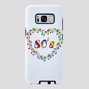80's Music Lover Samsung Galaxy S8 Case