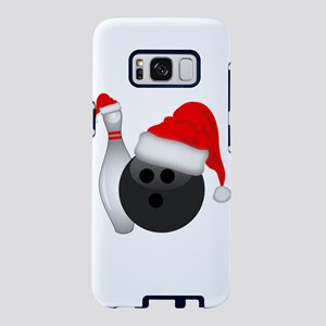 Christmas Bowling Ball And Samsung Galaxy S8 Case