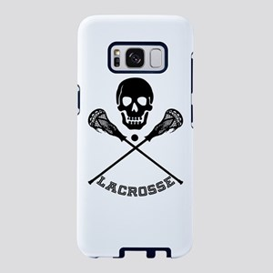Skull and Lacrosse Sticks Samsung Galaxy S8 Case