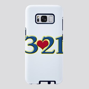 321 Down Syndrome Awareness Samsung Galaxy S8 Case