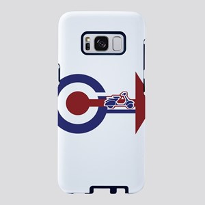 Retro Mod Target and scoote Samsung Galaxy S8 Case