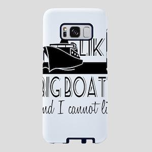 I Like Big Boats Samsung Galaxy S8 Case