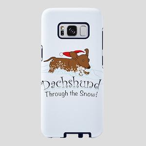 Dachshund Through The Snow Samsung Galaxy S8 Case