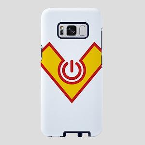 Hero Power, Comic Style, Ca Samsung Galaxy S8 Case