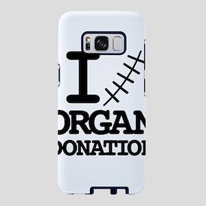 I (love) organ donation. Samsung Galaxy S8 Case