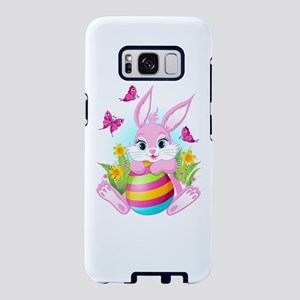 Pink Easter Bunny Samsung Galaxy S8 Case