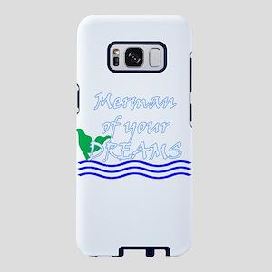 Merman Of Your Dreams (White) Samsung Galaxy S8 Ca
