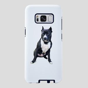 Pit Bull #2 (Blk-Wht) Samsung Galaxy S8 Case