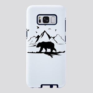 Mountains Wilderness Bear Samsung Galaxy S8 Case