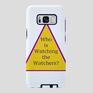 Watching the Watchers Samsung Galaxy S8 Case