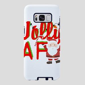 Jolly AF humor Christmas Samsung Galaxy S8 Case