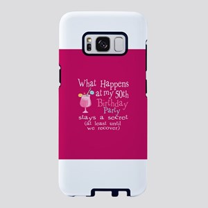 Fun 50th Birthday Party Samsung Galaxy S8 Case