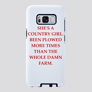 country girl Samsung Galaxy S8 Case