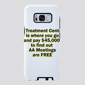 2-meetings-free Samsung Galaxy S8 Case