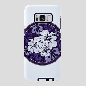 Purple Hibiscus Samsung Galaxy S8 Case