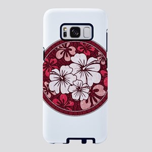 Red Hisbiscus Samsung Galaxy S8 Case