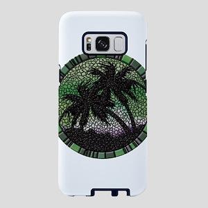 Green Palms Samsung Galaxy S8 Case