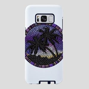 Purple Palms Samsung Galaxy S8 Case