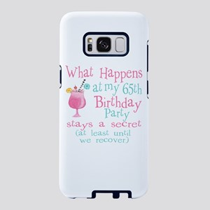 Fun 65th Birthday Party Samsung Galaxy S8 Case