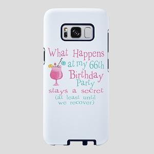Fun 66th Birthday Party Samsung Galaxy S8 Case