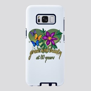 80th Birthday Beauty and Gr Samsung Galaxy S8 Case