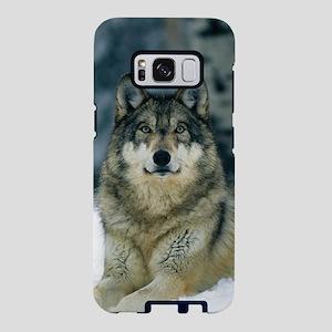 Wolf In The Snow Samsung Galaxy S8 Case