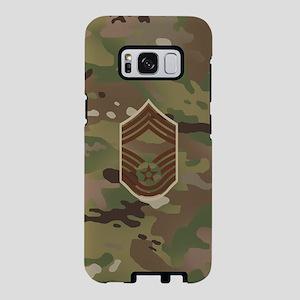U.S. Air Force: CMSgt (Camo Samsung Galaxy S8 Case
