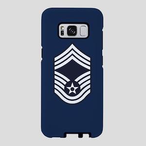 USAF: CMSgt E-9 (Blue) Samsung Galaxy S8 Case