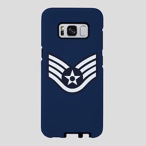 USAF: SSgt E-5 (Blue) Samsung Galaxy S8 Case